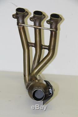 9/17 Triumph Street Triple 675 Rx Original Exhaust Manifold