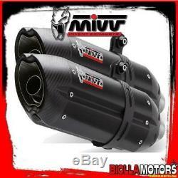 At. 009. L9 Kit Exhaust MIVV Pot 675cc Triumph Street Triple 2012- Suono Ino