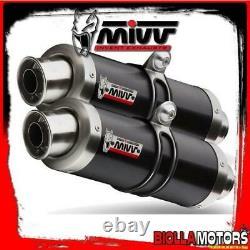 At. 009. Lxb Exhaust Pot Kit MIVV Triumph Street Triple 2007-2012 675cc Gp I