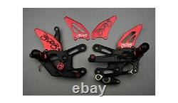 Back Orders Racing Black Red Triumph Street Triple S 660 A2 2017-2019