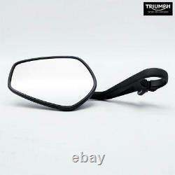 Black Bar-end Mirror Original T2060712 Triumph Street Triple Rs