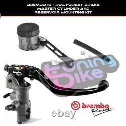 Brembo Pompa Freno Radial 19rcs + Kit For Triumph Street Triple R 09