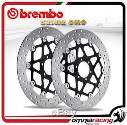 Brembo Racing Discs Serie Oro Triumph Street Triple 675 2007-2009