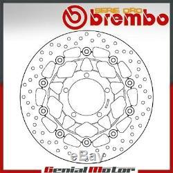 Disc Brake Floating Brembo Oro Anterieur Triumph Street Triple 675 2007 2012