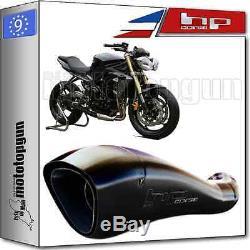 Exhaust Muffler Hp-corsage Hydroform Black Hom Triumph Street-triple 2015 15