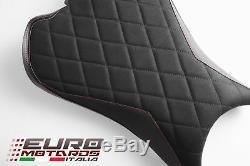 Front Seat Cover Luimoto Diamond Suede Triumph Street Triple 765 2017-2018