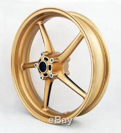 Front Wheel For Triumph Street Triple 675 2008-2009 Daytona 675 2006-2010 Gold