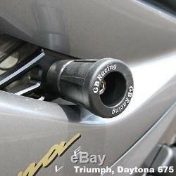 Gbracing Triumph Daytona 675 Street Triple Frame Sturzprotektoren Frame Sliders