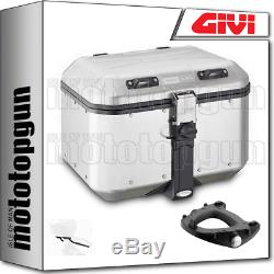 Givi Monokey Suitcase Dlm46a Trekker Dolomiti Triumph Street Triple 675 2011 11