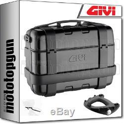 Givi Monokey Trk33b Trekker Suitcase Black For Triumph Street Triple 675 2012 12