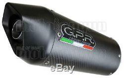 Gpr Pot D Exhaust Counterpart Furore Carbon Triumph Street Triple 675 2013 13