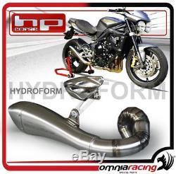 HP Corse Hydroform Triple Triumph Street 675 / R 0712 Basso Exhaust Muffler