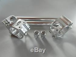 Handlebar Clamps Kit Triumph Daytona 675 Street Triple Silver 50mm