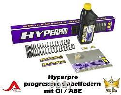 Hyperpro Progressive Triumph Street Triple Fork Springs 675 Bj 07-12 Abe