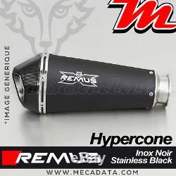 Muffler Pot Exhaust Remus Hypercone Black Triumph Street Triple 675 R 2013