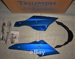 New Caribbean Blue Motorhome Triumph Street Triple 675 / R 2013/2016