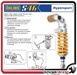Ohlins S46 Mono Shock Absorber S46pr1c1l Triumph Street Triple 675 / R 20082012