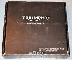 Original Chain Kit Triumph Street Triple 675 / R 2013/2016 T2017280 New