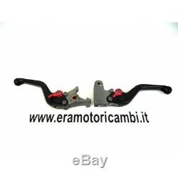 Pair Lifts Clutch / Brake Ergal Triumph Street Triple 675 2010 Adjustable