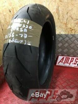 Pirelli Diablo Rear Tire Rosso Corsa 190 55 17 Triumph 765 Street Triple