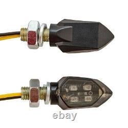 Plate Holder + 4x Flashlights For Triumph Street Triple / R / Rs / Rx / S Kx4