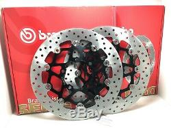 Rear Brembo Floating Brake Discs 78b69 Triumph Street Triple S 765 17