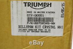 Sabot Engine White Triumph Street Triple 675 2013-16 Ref A9708345-nw