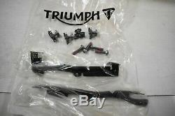 Sabot Motor (matte Black) Triumph Street Triple 675 2013-16 Ref A9708345-pd