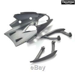 Set Passenger Handles Black A9758340 Original Triumph Street Triple R / R / S