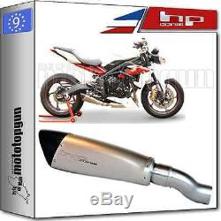 Silencer Hp-corse Evoxtreme 260 Stainless Steel Hom Triumph Street-triple 2013 13 2014 14