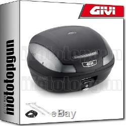 Top Case Givi Simply E470nt III + Carrier Package Triumph Street Triple 675 2011 11