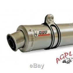 Triumph 675 Street Triple-07/12-pair Silencer MIVV Gp Titanium-mvat009l6s