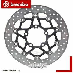 Triumph 675 Street Triple 2013- Brake Disc Before Floating Brembo