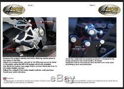 Triumph Platinum Rearsets Street Triple 675r 675 Daytona 4racing