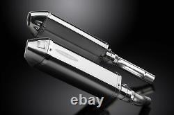 Triumph Street Triple 675 2007-2012 Silent Escapement 320mm Tri-ovale Stainless