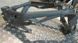 Triumph Street Triple 675 2014, English Frame Without Gray Card, Frame Was Cat B