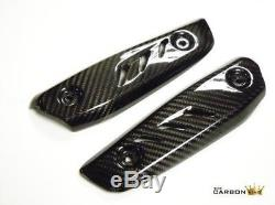 Triumph Street Triple 765 2017 Rs Carbon Fiber Radiator Tips Covers