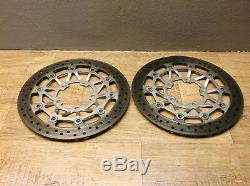 Triumph Street Triple R 675 11-12 D67ld Discs Front Right + Left 3,85mm