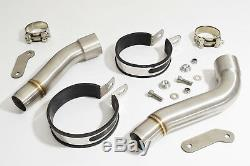 Triumph Street Triple R 675 20092012 Double Silencer Stainless 200ss