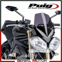 Windshield Puig Smoke Dark 5658f Triumph Speed triple 1050 2011/2015