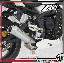 Zard Conical Racing Exhaust For Triumph Street Triple 675/r 2007 09