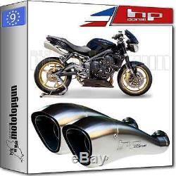 2 Pot D'echappement Hp-corse Hydroform Inox Hom Triumph Street-triple 2010 10