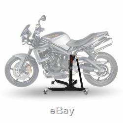 Bequille d'Atelier Moto CS BM Triumph Street Triple Rx 15-16 Avant Arriere