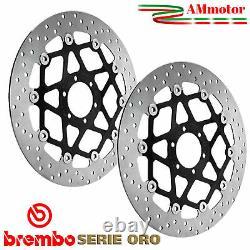 Disques De Frein Triumph Street Triple 675 R 2013 Brembo Oro Paire Avant Moto