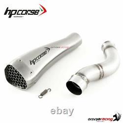 Echappement HpCorse Hydroform Corsa inox racing Triumph Street Triple 765 18