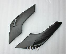 Flancs De Sabot Triumph Street Triple 765 S R Rs 2020 2021 100% Carbone Mat