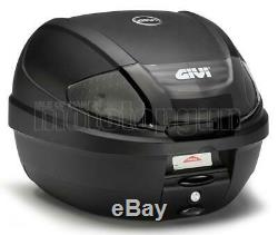 Givi Top Case E300nt2 + Porte-paquet Triumph Street Triple 675 2011 11 2012 12