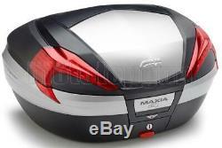 Givi Top Case Maxia 4 V56n + Porte-paquet Triumph Street Triple 675 2010 10