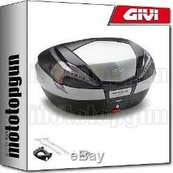 Givi Top Case Maxia 4 V56nt + Porte-paquet Triumph Street Triple 675 2010 10
