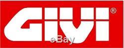 Givi Top Case Simply III E470nt + Porte-paquet Triumph Street Triple 675 2011 11
